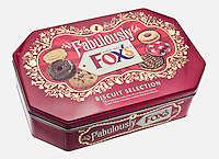 Tin of Fox's Biscuits - Jan 2013.