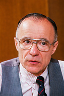 19 May 1988 --- German-American astrophysicist shared the 1978 Nobel Prize for Physics with Robert Woodrow Wilson for their discovery of electromagnetic radiation throughout the universe. --- Image by © JP Laffont