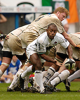 Reading, ENGLAND, Sarries,  Moses  Rauluni,during the London Irish vs Saracens, Guinness Premiership Rugby, at the, Madejski Stadium, 06.05.2006, © Peter Spurrier/Intersport-images.com,  / Mobile +44 [0] 7973 819 551 / email images@intersport-images.com.