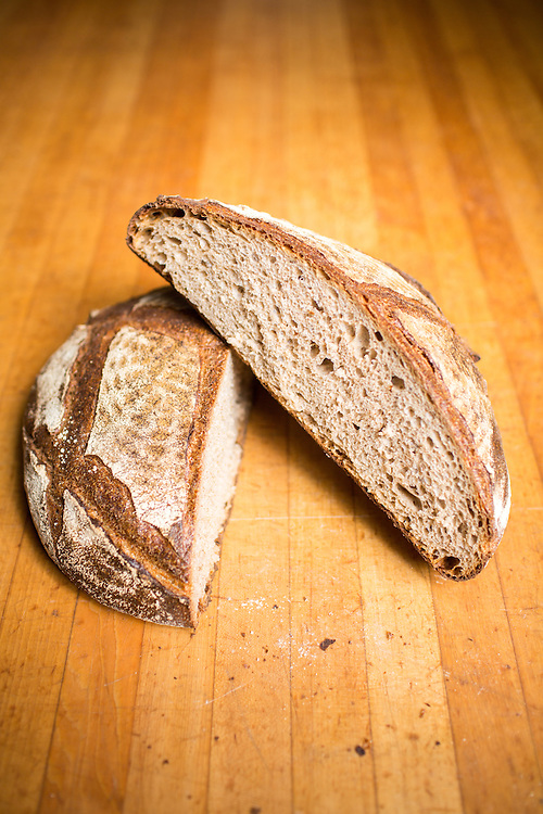 Hillsborough, North Carolina - Friday September 4, 2015 - Miche bread.