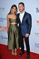 BEVERLY HILLS, CA. December 4, 2016: Jonathan Tucker and wife Tara Ahamed Tucker at the 2016 TrevorLIVE LA Gala at the Beverly Hilton Hotel.<br /> Picture: Paul Smith/Featureflash/SilverHub 0208 004 5359/ 07711 972644 Editors@silverhubmedia.com