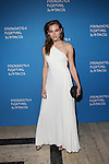 model Lana Zakocela attend the Foundation Fighting Blindness World Gala Held at Cipriani downtown located at 25 Broadway