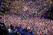 Denver, Colorado<br /> August 27, 2008<br /> <br /> Former US President Bill Clinton speaks at the Pepsi Center - Democratic National Convention.