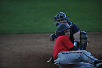 Catcher Kody Sepulveda at Ole Miss baseball practice at Oxford-University Stadium  in Oxford, Miss. on Thursday, February 2, 2012.