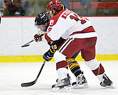 Yuri Bouharevich (Quinnipiac - 13), Alex Killorn (Harvard - 19) - The visiting Quinnipiac University Bobcats defeated the Harvard University Crimson 3-1 on Wednesday, December 8, 2010, at Bright Hockey Center in Cambridge, Massachusetts.