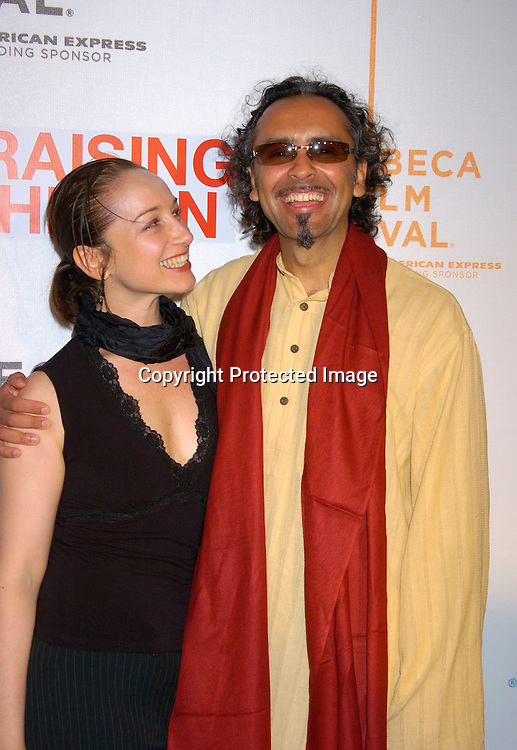 Bernard White (actor) Actor Bernard White and wife