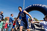_W1_6611<br /> <br /> The BYU Football Team holds a public practice and Fan Fest at Dixie High School in St. George, Utah.<br /> <br /> 2017 BYU Football - Spring Practice March 17, 2017<br /> <br /> March 17, 2017<br /> <br /> Photo by Jaren Wilkey/BYU<br /> <br /> &copy; BYU PHOTO 2017<br /> All Rights Reserved<br /> photo@byu.edu  (801)422-7322