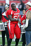 27 October 2007:  Isaiah Wiggins. The Western Illinois Leathernecks beat up on the Illinois State Redbirds  27-14 at Hancock Stadium on the campus of Illinois State University in Normal Illinois.