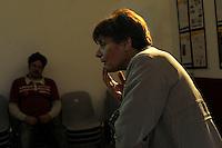 Corso di teatro di Lucia Panaro. Prove dello spettacolo.Graziano Panaro.<br /> Theatre course, teacher director Lucia Panaro. Rehearsals for the show.