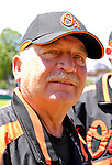 21 May 2007:  Baltimore Orioles pitching coach Leo Mazzone watches his team arrive at Doubleday Field prior to Baseball's Annual Hall of Fame Game in Cooperstown, NY. The Orioles defeated the visiting Toronto Blue Jays 13-7...Mandatory Credit: Ed Wolfstein Photo