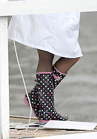 Henley, Great Britain. Patterned Wellington Boots on the resultss board at the 2007 Henley Royal Regatta,  Henley Reach, England 06/07/2007  [Mandatory credit Peter Spurrier/ Intersport Images] Rowing Courses, Henley Reach, Henley, ENGLAND . HRR.