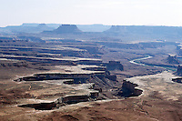 SOUTHWESTERN GEOLOGICAL FORMATIONS<br /> Green River<br /> Canyonlands National Park, Utah