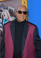 LOS ANGELES, CA. December 3, 2016: Singer Stevie Wonder at the world premiere of &quot;Sing&quot; at the Microsoft Theatre LA Live.<br /> Picture: Paul Smith/Featureflash/SilverHub 0208 004 5359/ 07711 972644 Editors@silverhubmedia.com