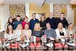 John Ross Jewelers Christmas party at the Brogue Inn on Saturday Pictured Front L-r Caoimhe Healy, Alexandra O'Sullivan, Heather O'Sullivan, Helen O'Connor, John Bowler, Triona Bowler, Sandrine Brassil. Back l-r Kaltrina Mehmeti, Shay Costello, Fion O'Sullivan, Gnti O'Sullivan, Phil Kissane, Frank Kissane, Eoin Bassil, J