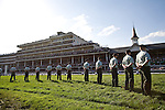 Standing Guard in the infield at Churchill Downs for the 2008 Kentucky Derby.