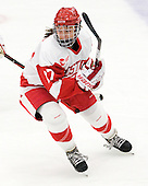 Jordan Juron (BU - 27) - The Boston University Terriers defeated the visiting Union College Dutchwomen 6-2 on Saturday, December 13, 2012, at Walter Brown Arena in Boston, Massachusetts.