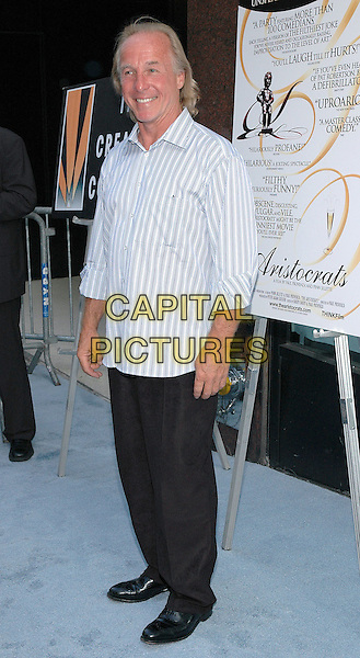 """26 July 2005 - New York, New York - Jackie """"The Jokeman"""" Martling arrives at the premiere of his new film, """"The Aristocrats"""", at The Directors Guild Theater in Manhattan.  .Photo Credit: Patti Ouderkirk/AdMedia"""