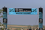 Pave sector 25 Briastre a Solesmes during the 115th edition of the Paris-Roubaix 2017 race running 257km Compiegne to Roubaix, France. 9th April 2017.<br /> Picture: Eoin Clarke | Cyclefile<br /> <br /> <br /> All photos usage must carry mandatory copyright credit (&copy; Cyclefile | Eoin Clarke)