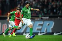 FUSSBALL   1. BUNDESLIGA   SAISON 2011/2012    12. SPIELTAG SV Werder Bremen - 1. FC Koeln                              05.11.2011 Claudio PIZARRO (Bremen) erzielt per Elfmeter den Treffer zum 2:2