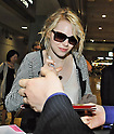 Emma Stone, Jun 12, 2012 : Actress Emma Stone and actor Andrew Garfield arrive at Narita International Airport in Chiba prefecture, Japan on June 12, 2012. The real life couple signed autographs for fans upon arrival at Narita Airport. They are in Japan to promote their new film, The Amazing Spider-Man