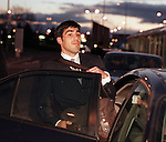 Claudio Reyna arrives in Glasgow to sign for Rangers in 1999