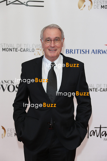 CPE/June 9, 2013-Bernard Le Coq attends 53rd Monte-Carlo TV Festival Red Carpet Opening.