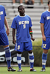 04 September 2011: UCSB's Fifi Baiden (GHA) (5). The University of California Santa Barbara Broncos defeated the North Carolina State University Wolfpack 1-0 at Koskinen Stadium in Durham, North Carolina in an NCAA Division I Men's Soccer game.