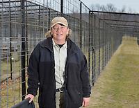 NWA Democrat-Gazette/BEN GOFF -- 03/09/15 Emily McCormack, curator of Turpentine Creek Wildlife Refuge, poses for a photo at the refuge near Eureka Springs on Monday Mar. 9, 2015.