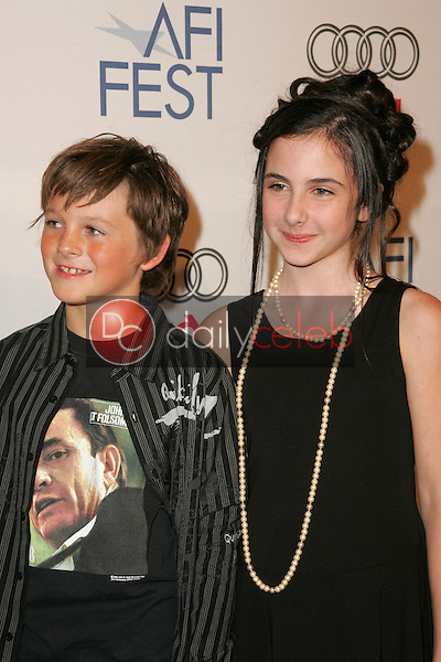 Ridge Canipe and Hailey Anne Nelson<br /> at the premiere of &quot;Walk The Line&quot; on the opening night of AFI Fest 2005, Arclight Cinerama Dome, Hollywood, CA 11-03-05<br /> David Edwards/DailyCeleb.Com 818-249-4998