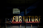 A furniture store goes out of business in Fresno, Calif., September 20, 2012.