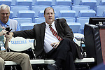 28 December 2016: UNC Senior Associate Athletic Director Steve Kirschner. The University of North Carolina Tar Heels hosted the Monmouth University Hawks at the Dean E. Smith Center in Chapel Hill, North Carolina in a 2016-17 NCAA Division I Men's Basketball game. UNC won the game 102-74.