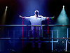 Godspell <br /> at Hackney Empire, London, Great Britain <br /> by John-Michael Tableau <br /> Music &amp; lyrics by Stephen Schwartz<br /> produced by Russell Scott &amp; Mark Pettitt <br /> press photocall <br /> 4th April 2015 <br /> <br /> Tom Senior as Jesus <br /> <br /> <br /> <br /> Photograph by Elliott Franks <br /> Image licensed to Elliott Franks Photography Services