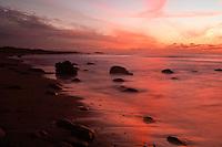 Sunset at Bybergsanden.