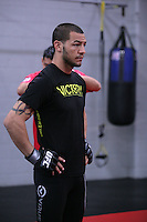 Jackson's/Winkeljohn's: January 16, 2012 Cub Swanson attends Greg Jackson's grappling class at Jackson's/Winkeljohn's in Albuquerque, NM