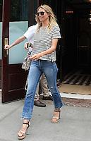 NEW YORK, NY - JULY 1:  Heidi Klum spotted leaving her hotel in New York, New York on July 1, 2016.  Photo Credit: Rainmaker Photo/MediaPunch