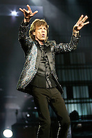 Mick Jagger and The Rolling Stones Perform at The Forum