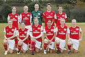 Arsenal Ladies FC team group, DECEMBER 2, 2011 - Football / Soccer : Frendiy Football match Arsenal Ladies FC 4-0 Musashigaoka College Ciencia at Musashigaoka College Stadium in Saitama, Japan. (Photo by Yusuke Nakanishi/AFLO SPORT) [1090]