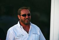 Jun 10, 2016; Englishtown, NJ, USA; Old Bridge Township Raceway Park track owner Michael Napp during NHRA qualifying for the Summernationals. Mandatory Credit: Mark J. Rebilas-USA TODAY Sports