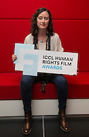 ***NO FEE PIC *** 05/06/2014 Roisin Loughrey director of The Room during the launch of the ICCL (Irish Council for Civil Liberties) Human Rights Film Awards Shortlist at the IFCO in Smith field, Dublin. Photo: Gareth Chaney Collins