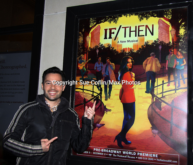 11-16-13 Jason Tam - LaChanze - Idina Menzel - If/Then pre-Broadway premiere DC