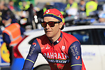 Borut Bozic (SLO) Bahrain-Merida heads to sign on before the start of Gent-Wevelgem in Flanders Fields 2017, running 249km from Denieze to Wevelgem, Flanders, Belgium. 26th March 2017.<br /> Picture: Eoin Clarke | Cyclefile<br /> <br /> <br /> All photos usage must carry mandatory copyright credit (&copy; Cyclefile | Eoin Clarke)