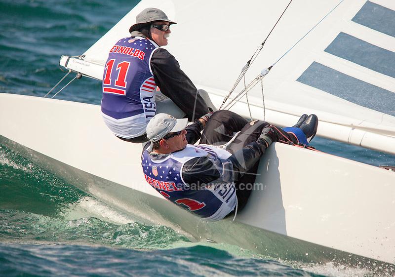 Bow n: 10, Skipper: Mark Reynolds, Crew: Hal Haenel, Sail n: USA
