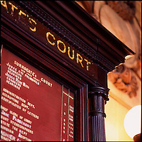 Surrogate Court building detail