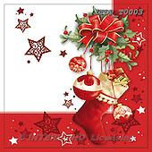 Christmas - Napkins paintings