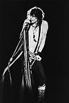 Aerosmith  1984  Steven Tyler.© Chris Walter.