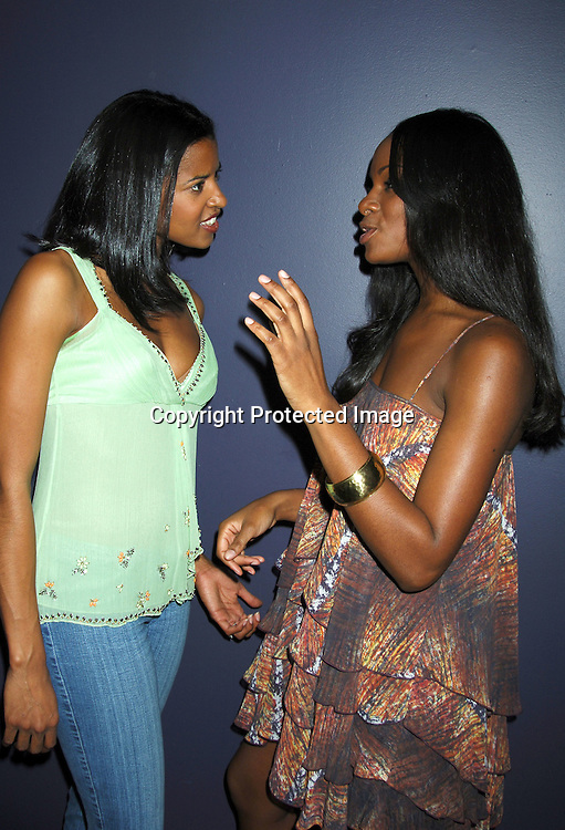 Renee Elise Goldsberry and Tika Sumpter