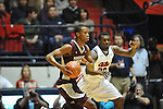 Mississippi State's Rodney Hood (4) vs. Ole Miss' Nick Williams (20) at the C.M. &quot;Tad&quot; Smith Coliseum in Oxford, Miss. on Wednesday, January 18, 2012. (AP Photo/Oxford Eagle, Bruce Newman).
