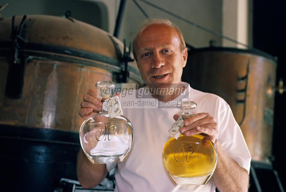 Europe/France/Corse/2B/Haute-Corse/Costa Serena/Env. d'Aleria: Distillerie artisanale Mavela - Jean-Claude Venturini [Non destiné à un usage publicitaire - Not intended for an advertising use]