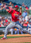 4 March 2016: St. Louis Cardinals pitcher Jaime Garcia on the mound during a Spring Training pre-season game against the Houston Astros at Osceola County Stadium in Kissimmee, Florida. The Cardinals fell to the Astros 6-3 in Grapefruit League play. Mandatory Credit: Ed Wolfstein Photo *** RAW (NEF) Image File Available ***