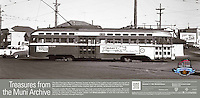 PCC 1039 on the N Judah Streetcar Line | November 11, 1956